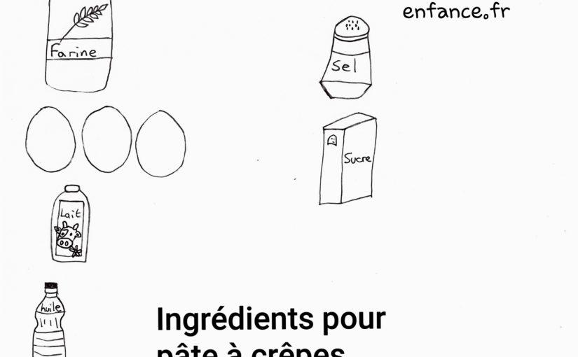 Recette facile de la pâte à crêpes faite pour les enfants (Dès 2 ans)