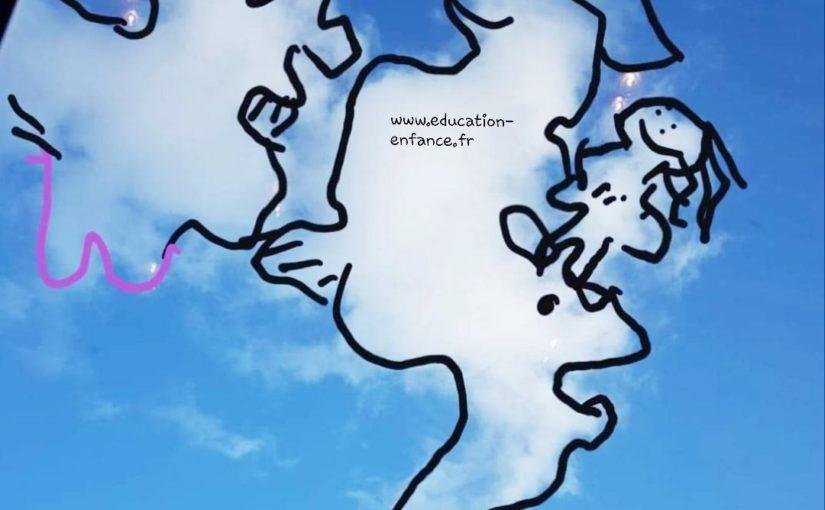 Activité de plein air pour occuper vos enfants avec les nuages