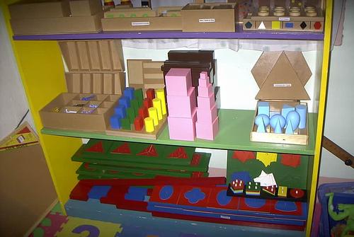 Le matériel sensoriel dans la pédagogie Montessori(choix du matériel)