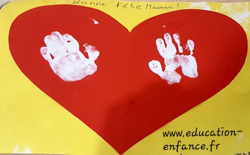 Activité peinture: idée pour offrir(fête des mères, pères,)